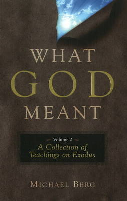 What God Meant: v. 2 by Michael Berg image