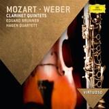 Mozart & Weber Clarinet Quintets by Eduard Brunner