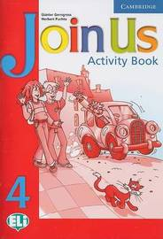 Join Us 4 Activity Book by Gunter Gerngross image