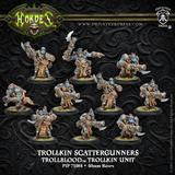 Hordes: Trollblood Scattergunners Trollkin Unit