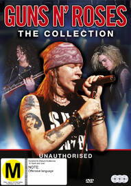 Guns & Roses: The Collection DVD