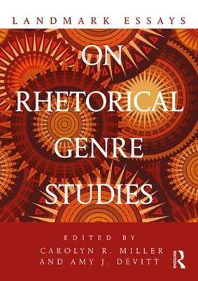 Landmark Essays on Rhetorical Genre Studies image
