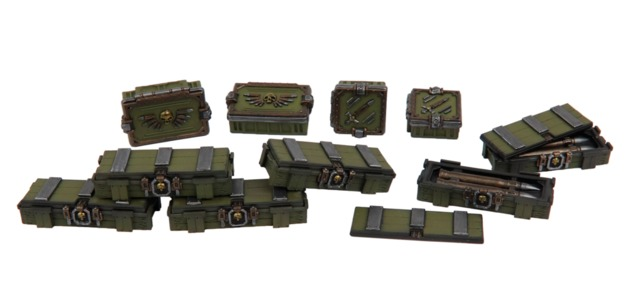 TTCombat: Tabletop Scenics - Ammo Crates