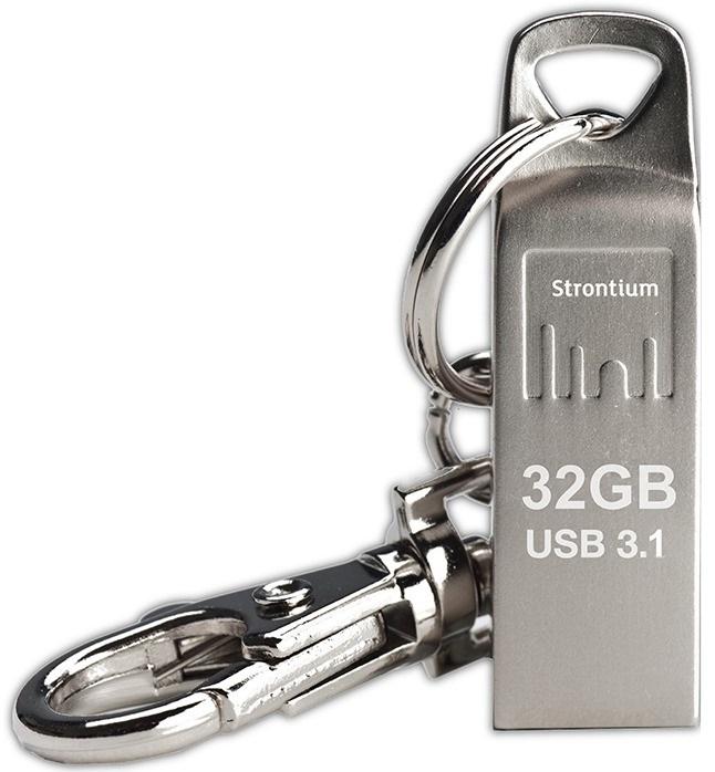 Strontium 32GB Ammo Metallic USB 3.1 Drive image