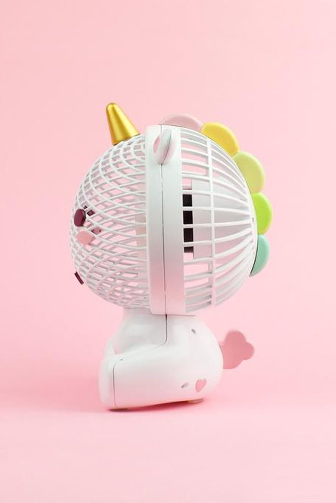 Elodie Unicorn USB Fan image