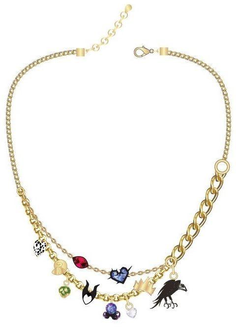Disney: Classic Villains - Charm Necklace