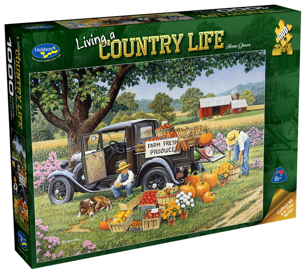 Holdson: 1000 Piece Puzzle - Living a Country Life (Home Grown)