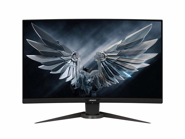 "27"" Gigabyte Aorus 1080p 165Hz Curved Gaming Monitor"