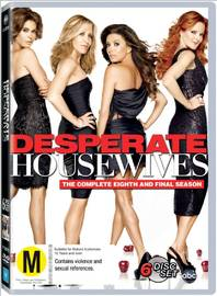 Desperate Housewives - The Complete 8th and Final Season on DVD