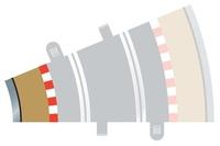 Scalextric 22.5 Degree Radius 2 Curve Inner Track Borders