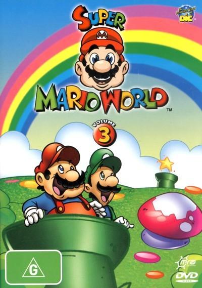 Super Mario World: Volume 3 on DVD