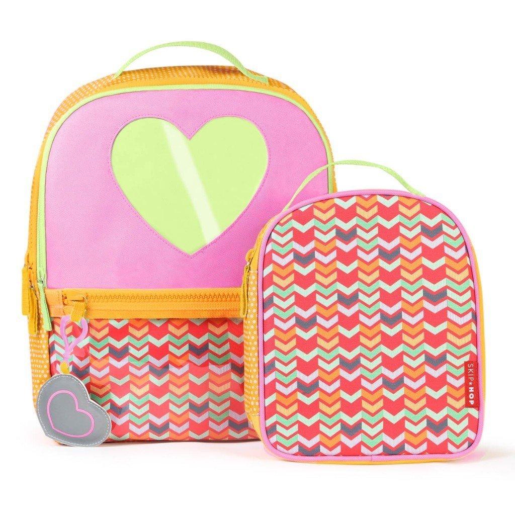 Skip Hop: Forget Me Not Backpack and Lunch Bag Set- Heart image
