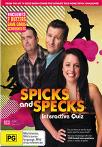 Spicks And Specks - Interactive Quiz on DVD