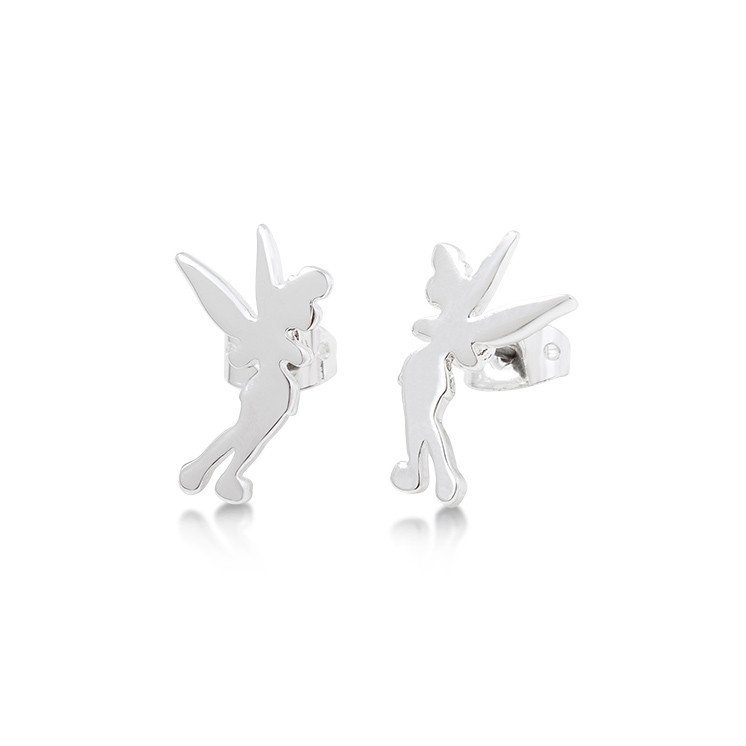 Couture Kingdom: Disney Tinker Bell Silhouette Stud Earrings image
