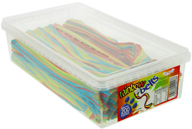 Nowco: Rainbow Belts (200 Pieces)