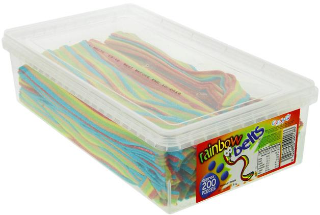 Nowco: Rainbow Belts (200pk)