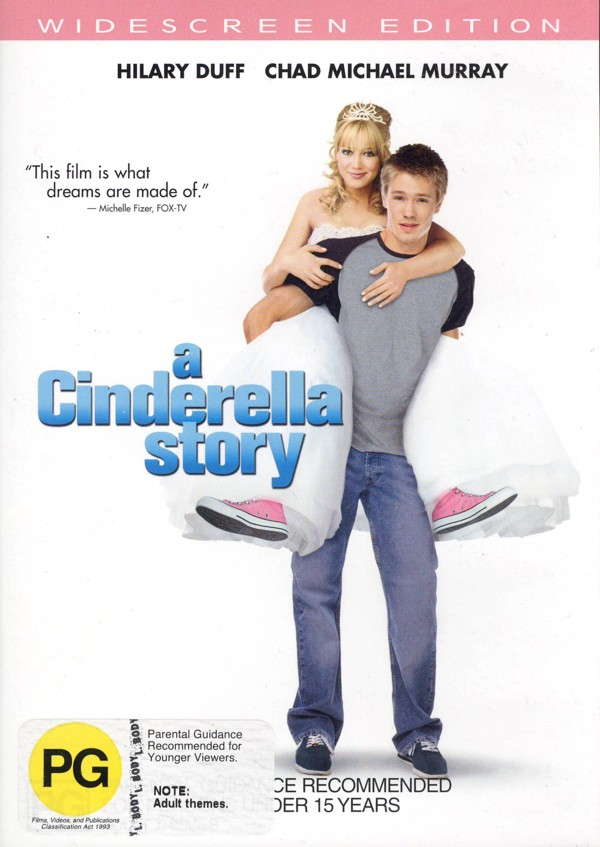 Cinderella Story, A on DVD image