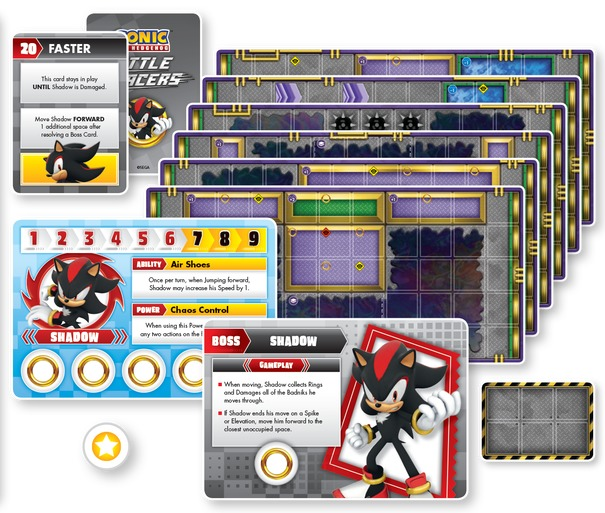 Sonic the Hedgehog: Battle Racers - Shadow - Boss Expansion image