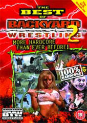 Backyard Wrestling - Volume 2 on DVD