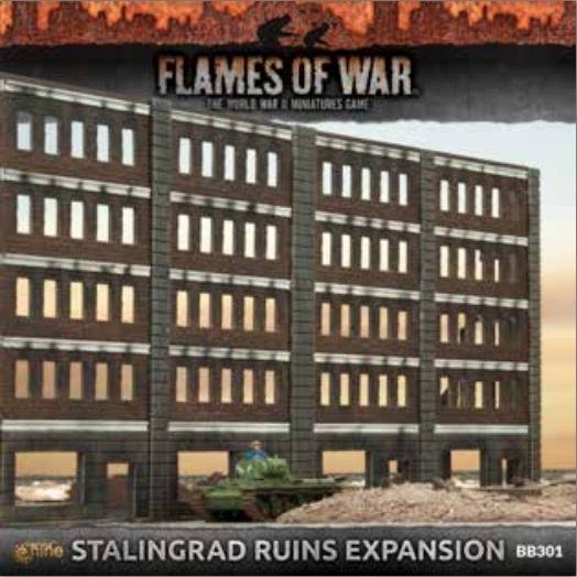 Battlefield in a Box: Stalingrad - Building Extension (Plastic)