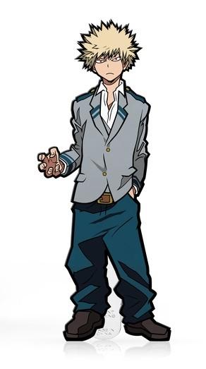My Hero Academia: Katsuki Bakugo (School Outfit) (#329) - Collectors FiGPiN