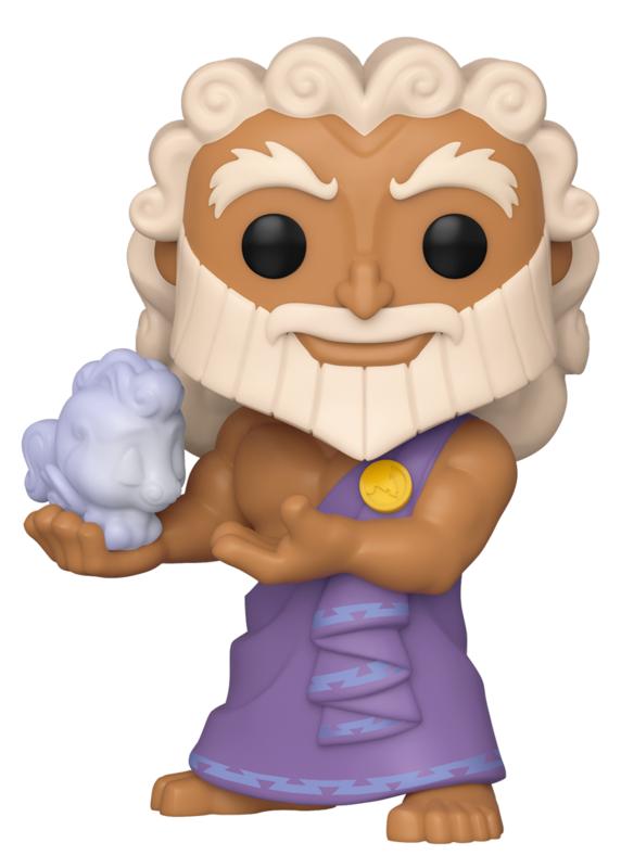 Hercules - Zeus holding Cloud Pegasus Pop! Vinyl Figure