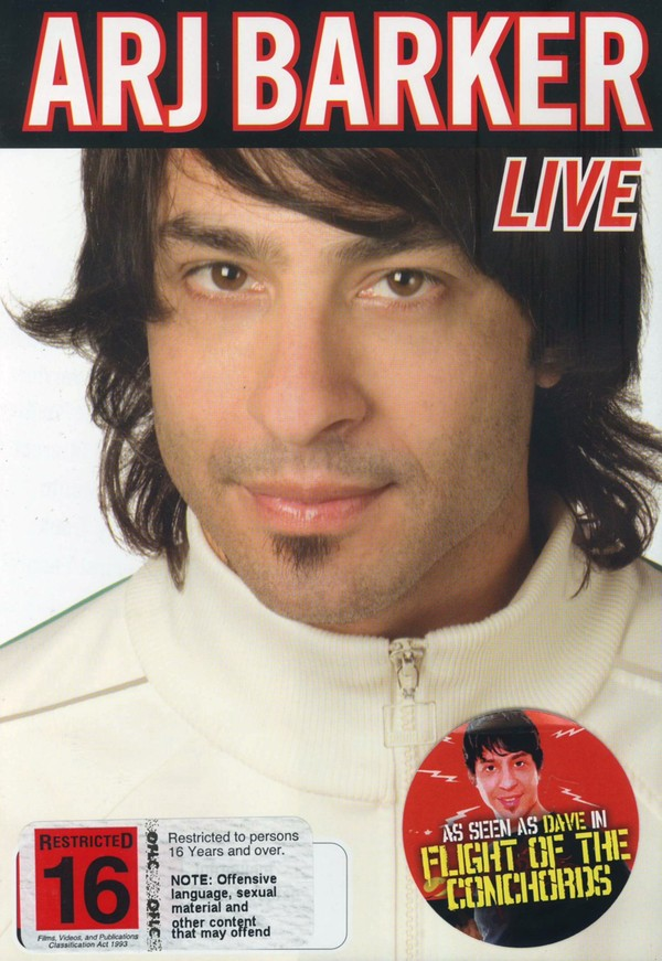 Arj Barker Live on DVD image
