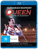 Queen: Hungarian Rhapsody on Blu-ray