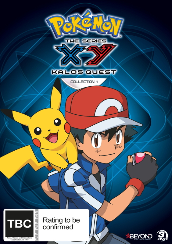 Pokemon: XY Kalos Quest - Collection 1 on DVD