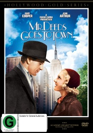 Mr Deeds Goes To Town on DVD