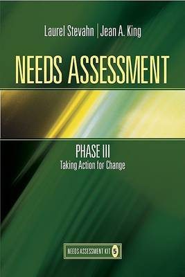 Needs Assessment Phase III by Laurie A. Stevahn image