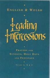 Leading Intercessions English/Welsh edition by Raymond Chapman