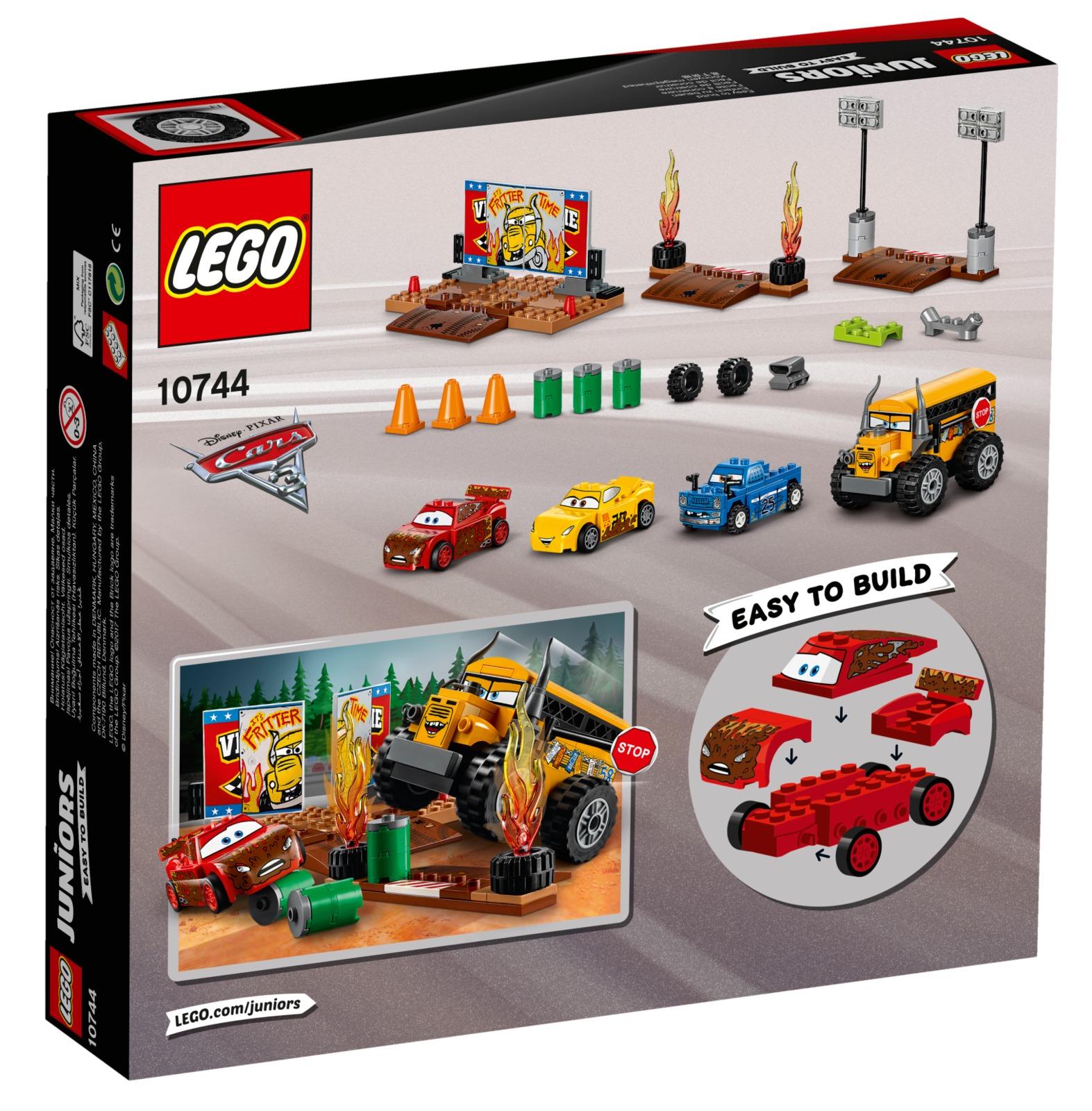 LEGO Juniors - Thunder Hollow Crazy 8 Race (10744) image