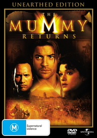 The Mummy Returns - Unearthed Edition on DVD