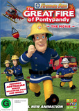 Fireman Sam: The Great Fire of Pontypandy DVD