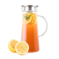 Pinky Up: Charlie Glass - Iced Tea Carafe