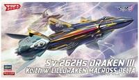 Macross - 1/72 Sv-262Hs Draken III (Keith Aero Windermere Ver.) - Model Kit