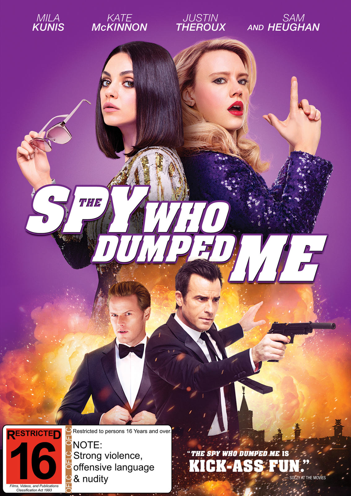 The Spy Who Dumped Me on DVD image