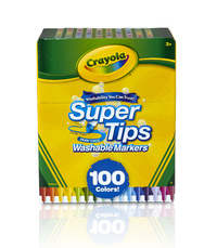 Crayola SuperTips Markers (100 Pack) image
