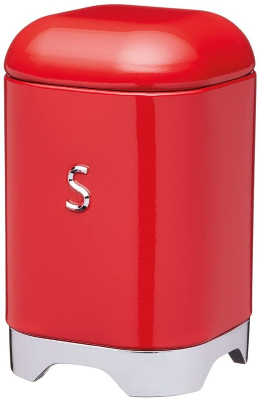 KitchenCraft: Lovello Sugar Canister - Red