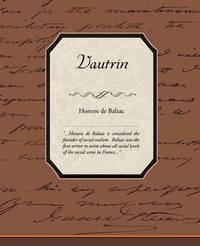 Vautrin by Honore de Balzac