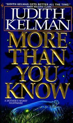 More Than You Know by Judith Kelman image
