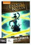 Legend Of Korra: Book Two: Spirits DVD