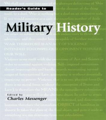 Reader's Guide to Military History image