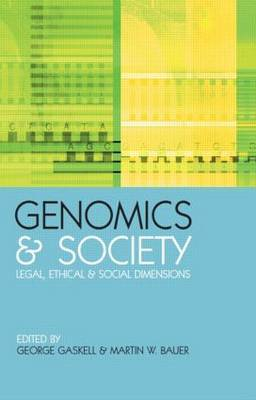Genomics and Society by Martin W Bauer image