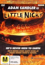 Little Nicky on DVD image