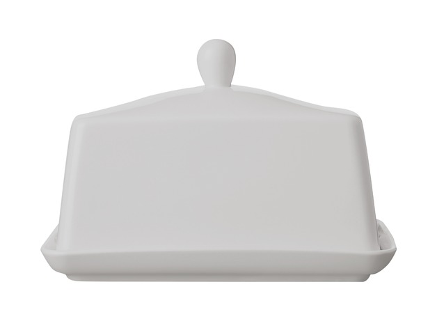 Maxwell & Williams - White Basics Butter Dish