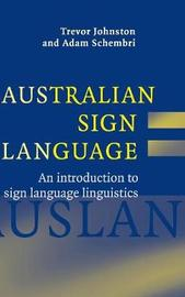 Australian Sign Language (Auslan) by Trevor Johnston image