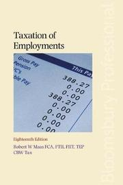 Taxation of Employments by Robert Maas