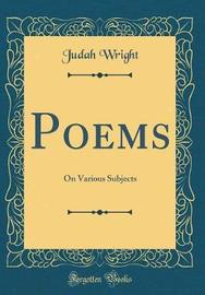 Poems by Judah Wright image